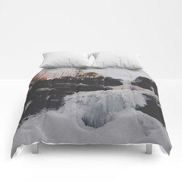 Frozen falls Comforters
