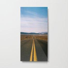 DEATH VALLEY APPROACH #01 – Kodak PRO 400 MC - 120 film Metal Print
