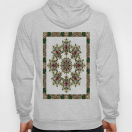 Mandala No. 7 - Ruby, Emeralds & Diamonds Hoody