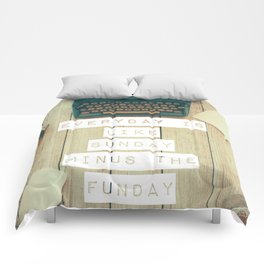 Sunday [Not So] Funday Comforters