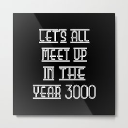 DISCO 3000 Metal Print