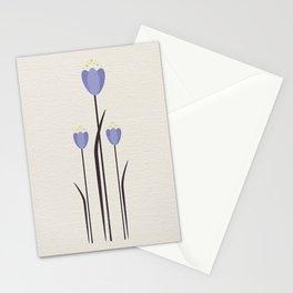 Minimal Bluebells Stationery Cards