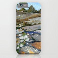 Sky Blue Puddles Slim Case iPhone 6s