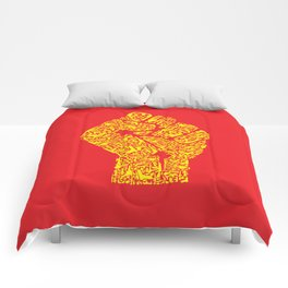 The Hand of Revolution Comforters