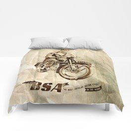 BSA - Vintage Poster Comforters