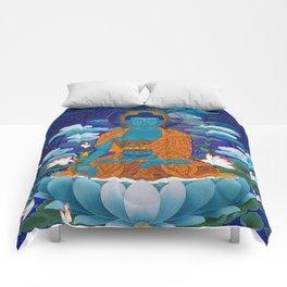 Medicine Buddha Comforters