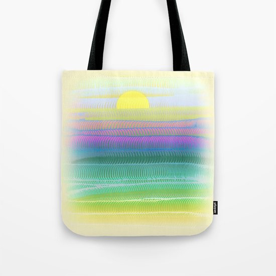 Sun Summer Tote Bag