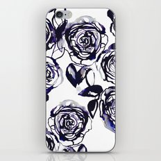 Inky Roses iPhone & iPod Skin