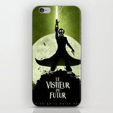 LE VISITEUR DU FUTUR - NO FUTURE iPhone & iPod Skin