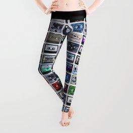 Cassette Tape Wall Leggings