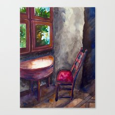 A room of one's own Canvas Print
