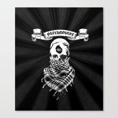 PsychoPirate Canvas Print