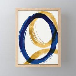 Abstract ellipse Framed Mini Art Print