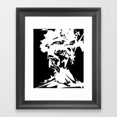 An Old Man Framed Art Print