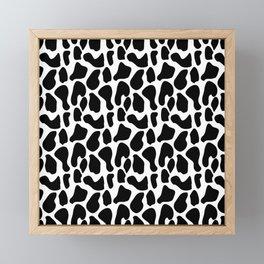 Dalmatian pattern Framed Mini Art Print