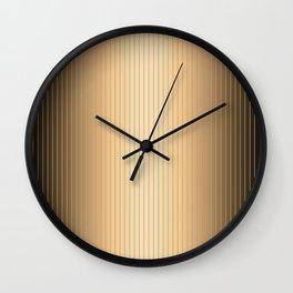 Traditional Japanese patter MIJINSUJI Wall Clock