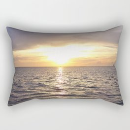 Sunrise over the Indian River Rectangular Pillow