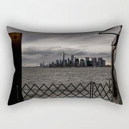 Doorway to NYC Rectangular Pillow