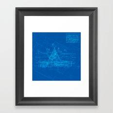 Enchanted Tiki Room Framed Art Print
