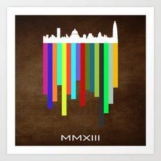 MMXIII Art Print