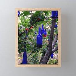 When Blue Bottles Fly Framed Mini Art Print