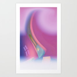 for sheer curtains and more -4- Art Print