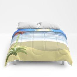 Gymea on Blue Comforters