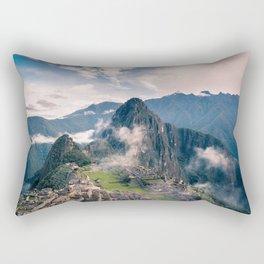 Mountain Peru Rectangular Pillow