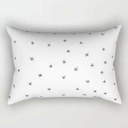 Simple Floral Rectangular Pillow