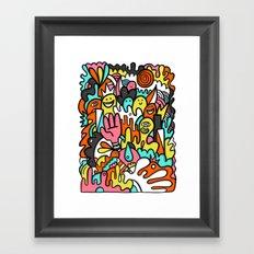 Mome raths Framed Art Print