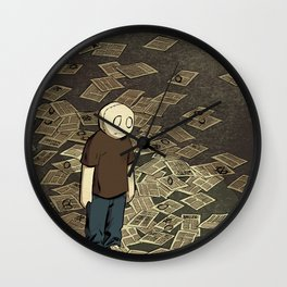 Li'l Depressed Boy -- Got Your Money Wall Clock