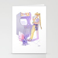 sailormoon Stationery Cards featuring 90s Sailormoon by Collectif PinUp!