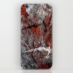 RED ARCHETYPAL STRUCTURES iPhone & iPod Skin