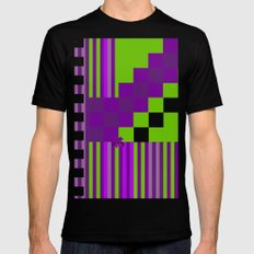 Playing with Colors Mens Fitted Tee MEDIUM Black