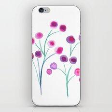 lady blooms iPhone & iPod Skin