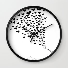 Love flow Wall Clock
