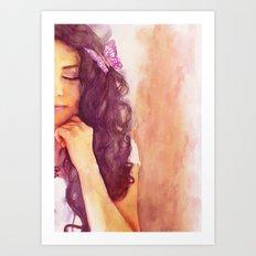 A part of me Art Print