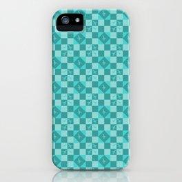 Geometric raptors iPhone Case
