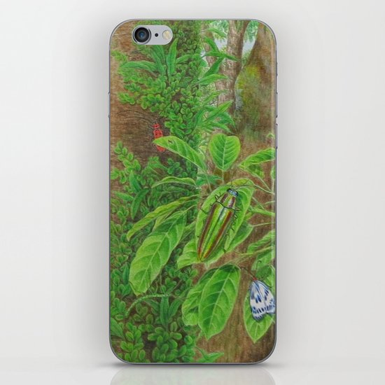 A Day of Forest (3). (Observe the tree) iPhone & iPod Skin