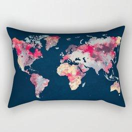 world map 69 Rectangular Pillow