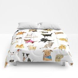 adopt a dog Comforters