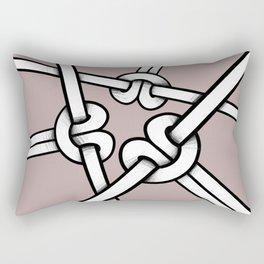 knot so tight Rectangular Pillow