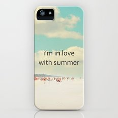 i'm in love with summer iPhone (5, 5s) Slim Case