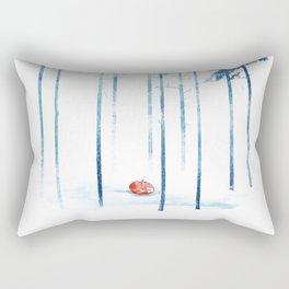 Sleeping in the woods Rectangular Pillow