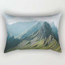 Wild Mountain - Landscape Photography Rectangular Pillow