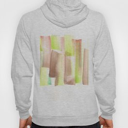 [161228] 11. Abstract Watercolour Color Study |Watercolor Brush Stroke Hoody