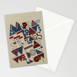America the Brave Stationery Cards