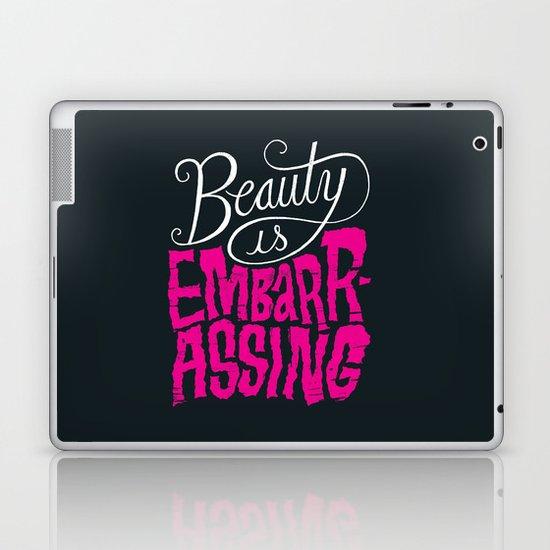 Beauty is Embarrassing  Laptop & iPad Skin