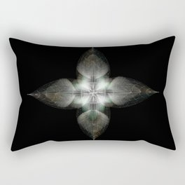 Four Feathers Rectangular Pillow