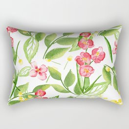 Orchid Jungle Rectangular Pillow